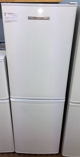 Second hand Fisher Paykel fridge freezer front shot
