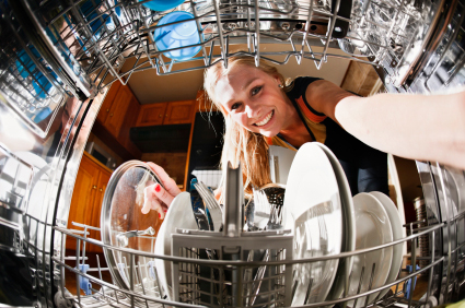 Satisfied Customer after purchasing a second hand dish washer at Applianace Services