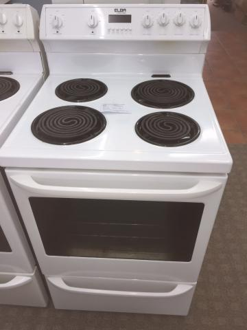 Second hand Elba oven showing the front and top
